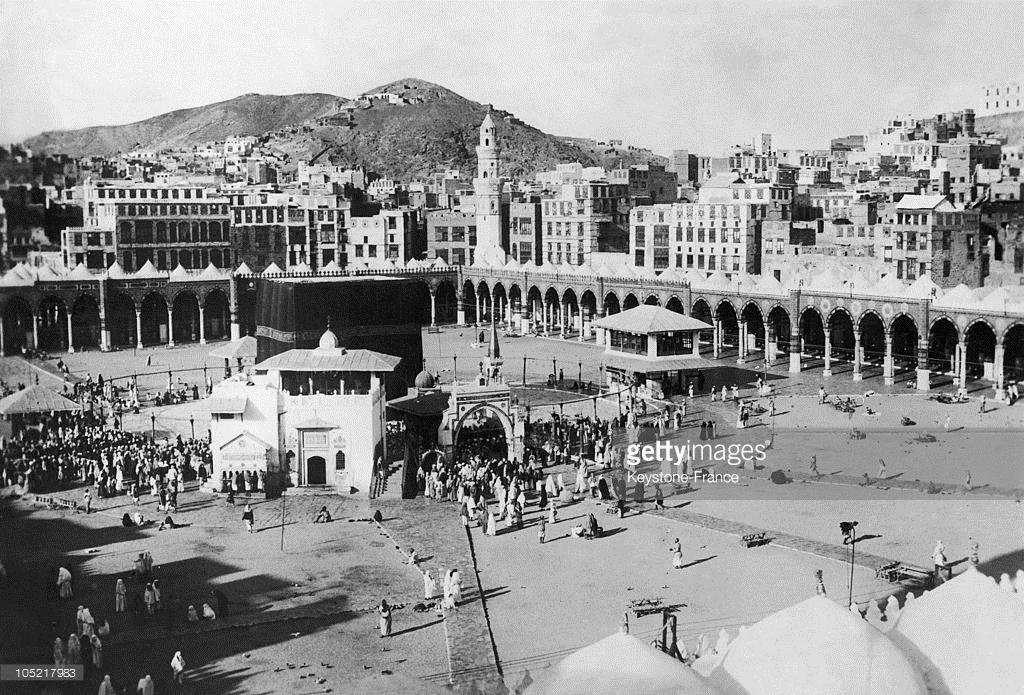 مكة المكرمة من القرن 18 الى يومنا هذا  105217983