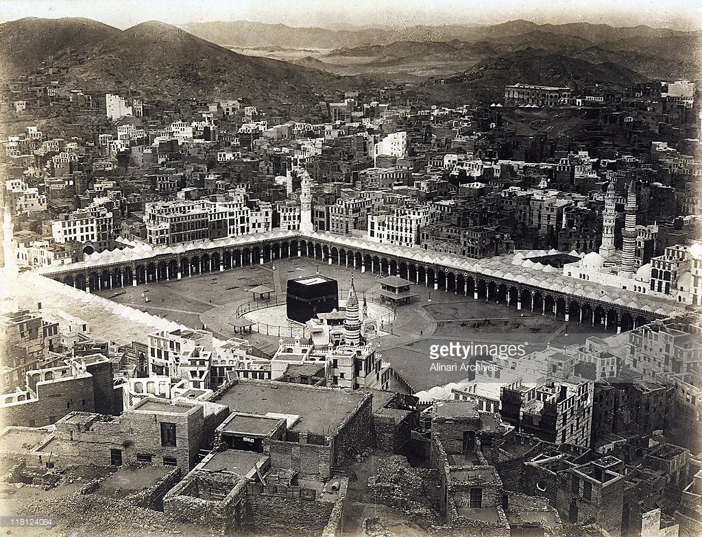 مكة المكرمة من القرن 18 الى يومنا هذا  118124084