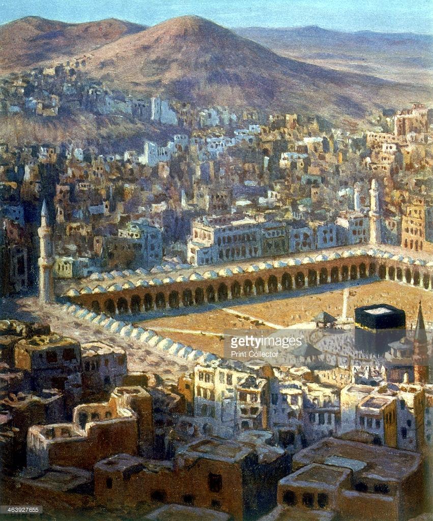 مكة المكرمة من القرن 18 الى يومنا هذا  463927655