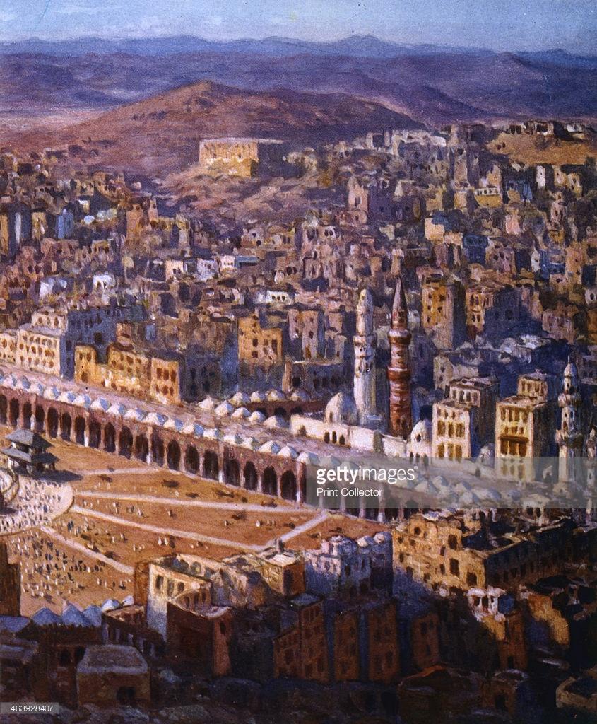 مكة المكرمة من القرن 18 الى يومنا هذا  463928407