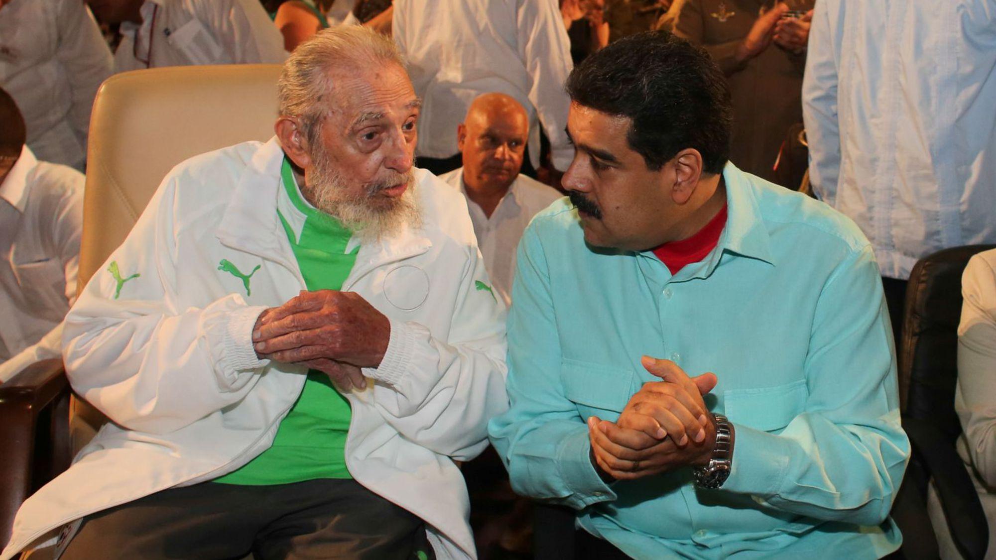 الرئيس الشهم هواري بومدين - صفحة 11 Fidel3