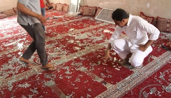 4 قتلى و18 مصابا في تفجير إنتحاري بمسجد  في السعودية