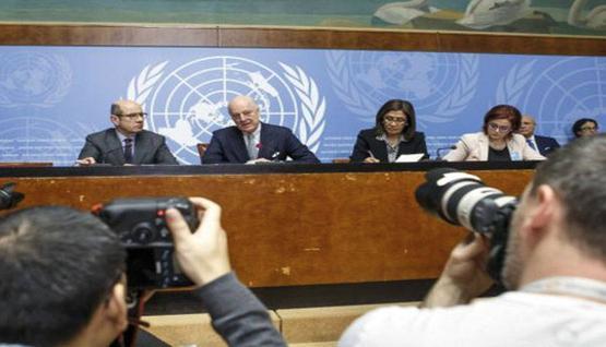 محادثات جنيف السورية