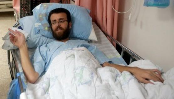 الأسير الفلسطيني القيق يصارع الموت (فيديو) 2016-02-1610%3A54%3A