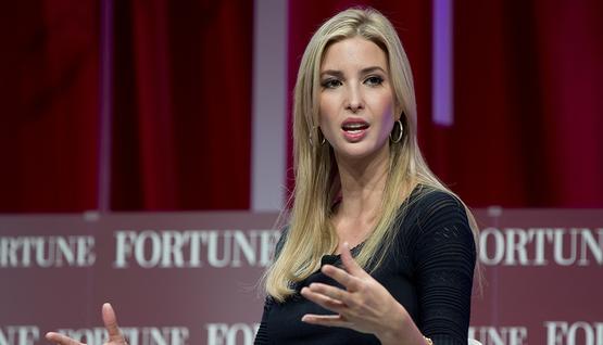 ابنة ترامب لايفانكا تحصل علي 100 مليون دولار وعمرة من السعودية والإمارات