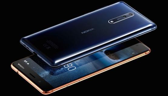 -نوكيا تكشف النقاب عن هاتف أندرويد الرائد Nokia 8
