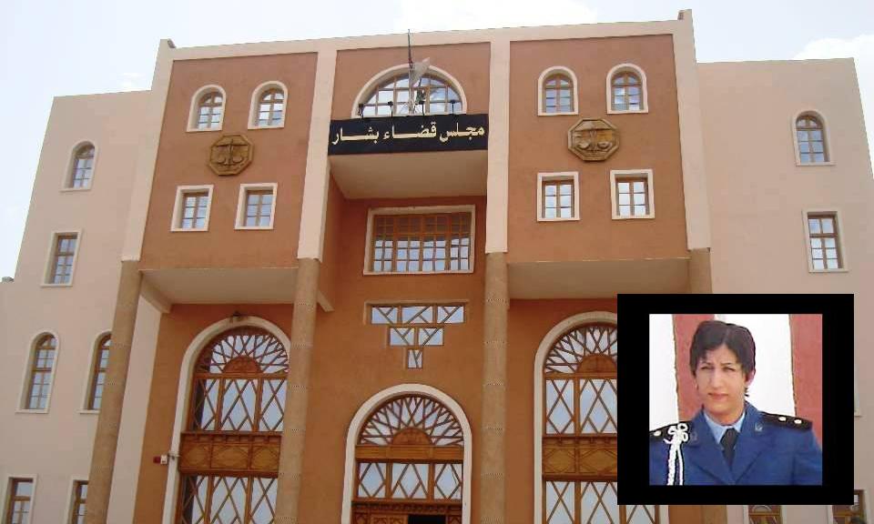 جنايات بشار تقضي بإعدام قاتل مفتشة الشرطة 2018-05-1123:39:27.8