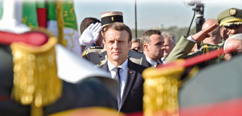 بين الجزائر وفرنسا..الجرح أعمق من ضماد ماكرون
